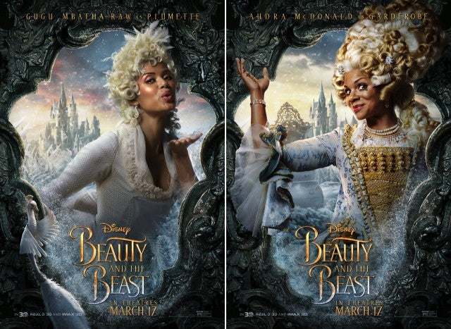 'Beauty and the Beast' Posters Highlight Lumiere ...