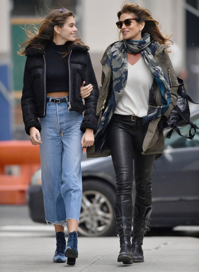 Cindy Crawford And Kaia Gerber Prove They Are The Coolest