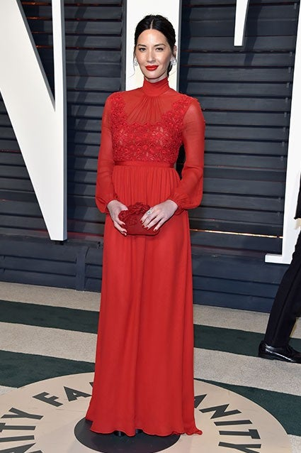 The Best Worst And Most Revealing Dresses At The Vanity Fair Oscars After Party Pics