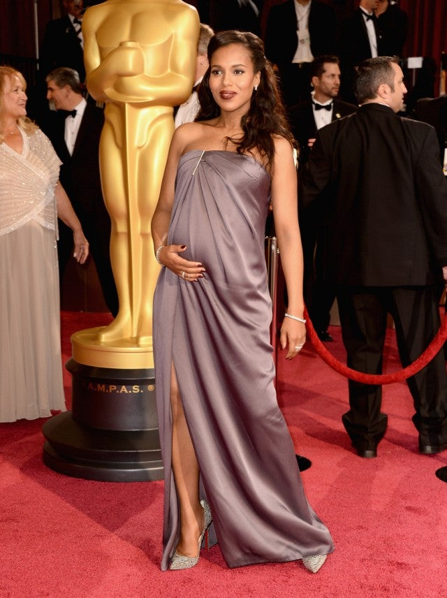 9 Pregnant Stars Who Have Walked The Oscar Red Carpet With