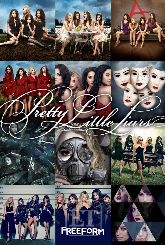 Exclusive The Pretty Little Liars Will Give You Chills In