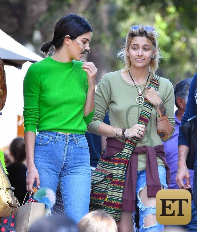Exclusive Pics New Besties Paris Jackson And Kendall