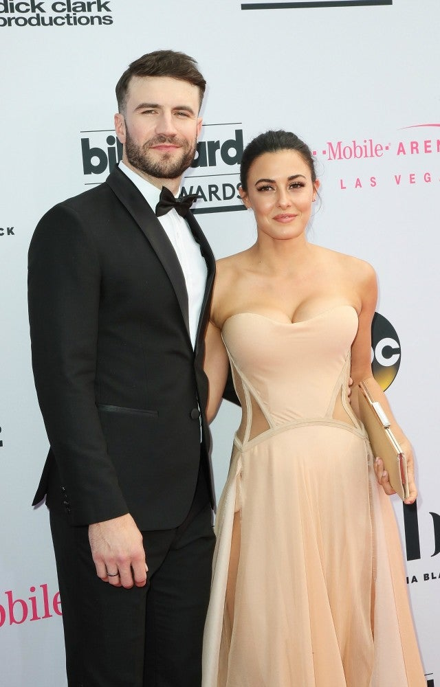 Sam Hunt Is Dashing In A Tux In First Red Carpet With Wife