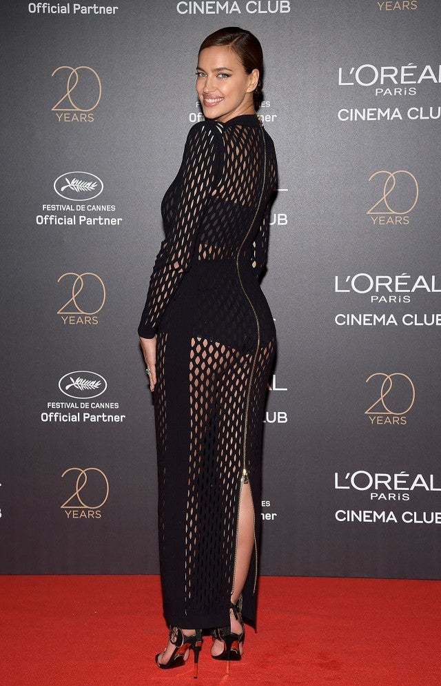 Irina Shayk Rocks Two See-Through Gowns in the Same Day at Cannes ...