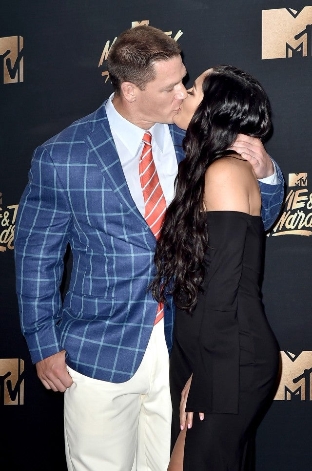 John Cena And Fiancee Nikki Bella Adorably Pack On The Pda