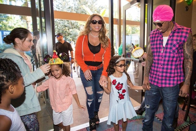 Mariah Carey And Nick Cannon Bring Their Twins To