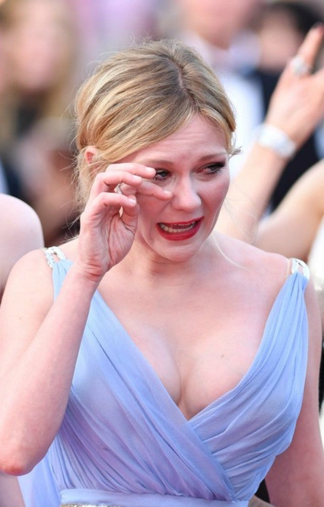 Kirsten Dunst Breaks Down Crying At Cannes Film Festival