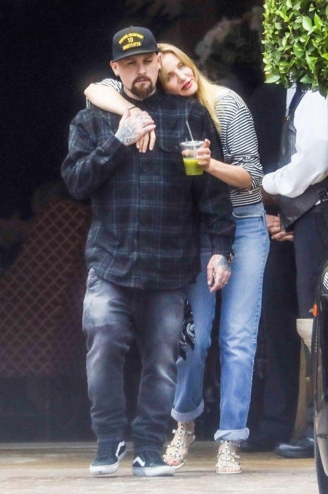 Cameron Diaz and Benji Madden Enjoy a PDA-Filled Lunch ...