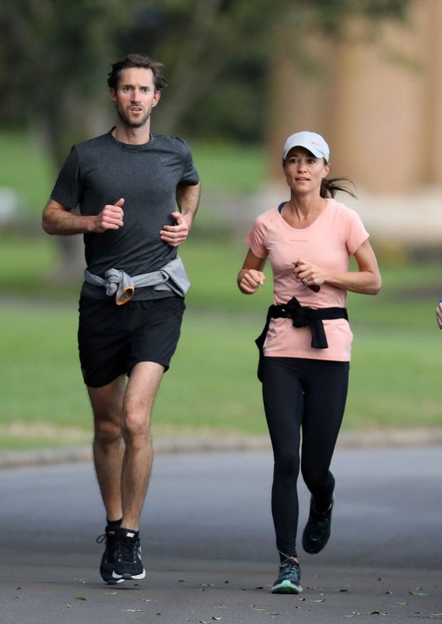 Pippa Middleton And James Matthews Jog Through Sydney S