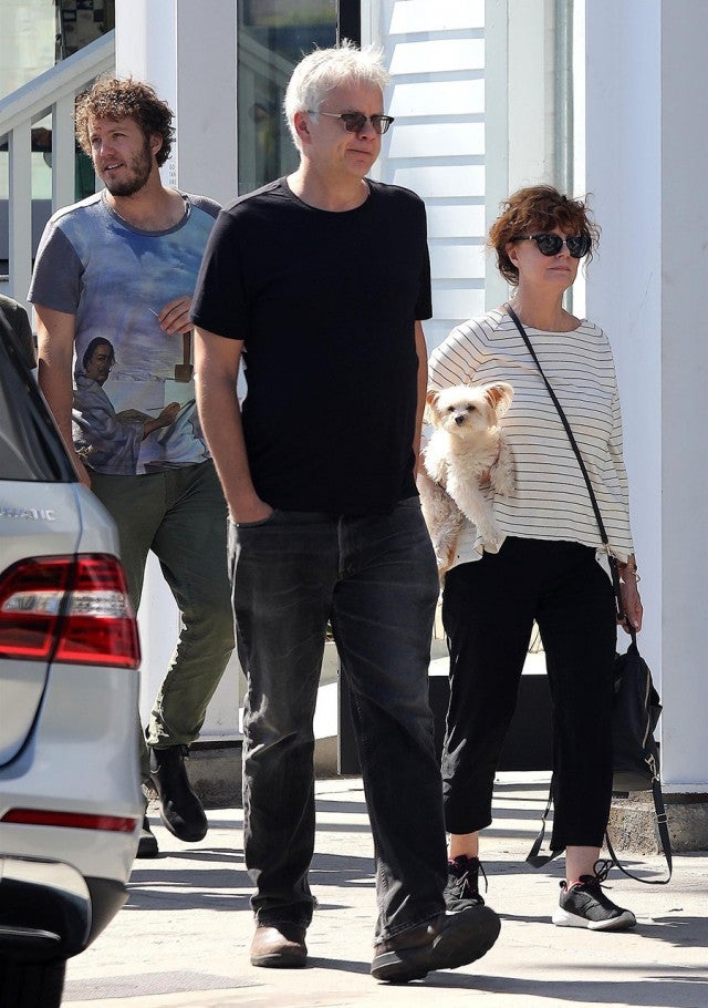 Susan Sarandon And Tim Robbins Have A Family Outing After
