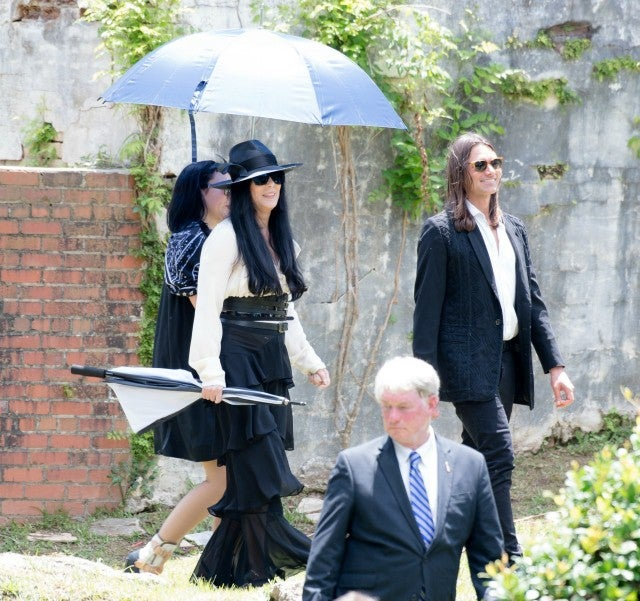 Cher Pays Her Respects To Ex Husband Gregg Allman At His