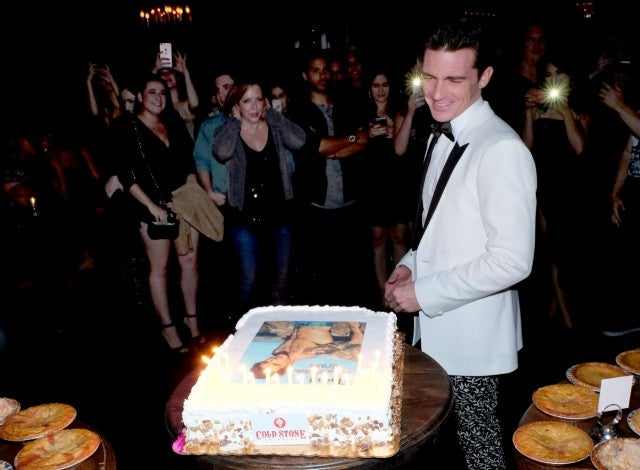 Drake Bell Had His Own Abs on His Birthday Cake See the Pics
