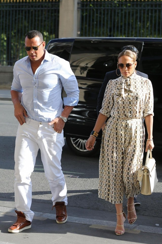 Jennifer Lopez Shows Off Her Curves In White Bikini While