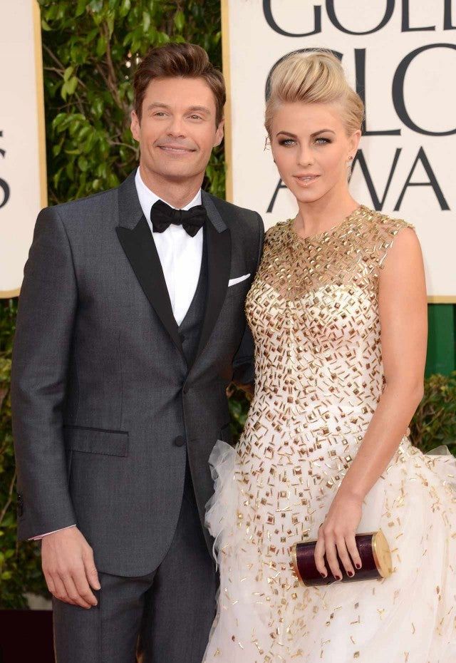 Who was julianne hough dating before ryan seacrest