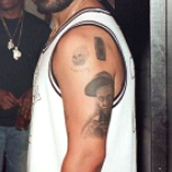 Drake has a huge new tattoo that looks just like lil wayne for Drake new tattoo