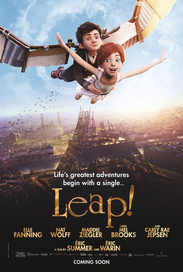 Leap Movie Poster