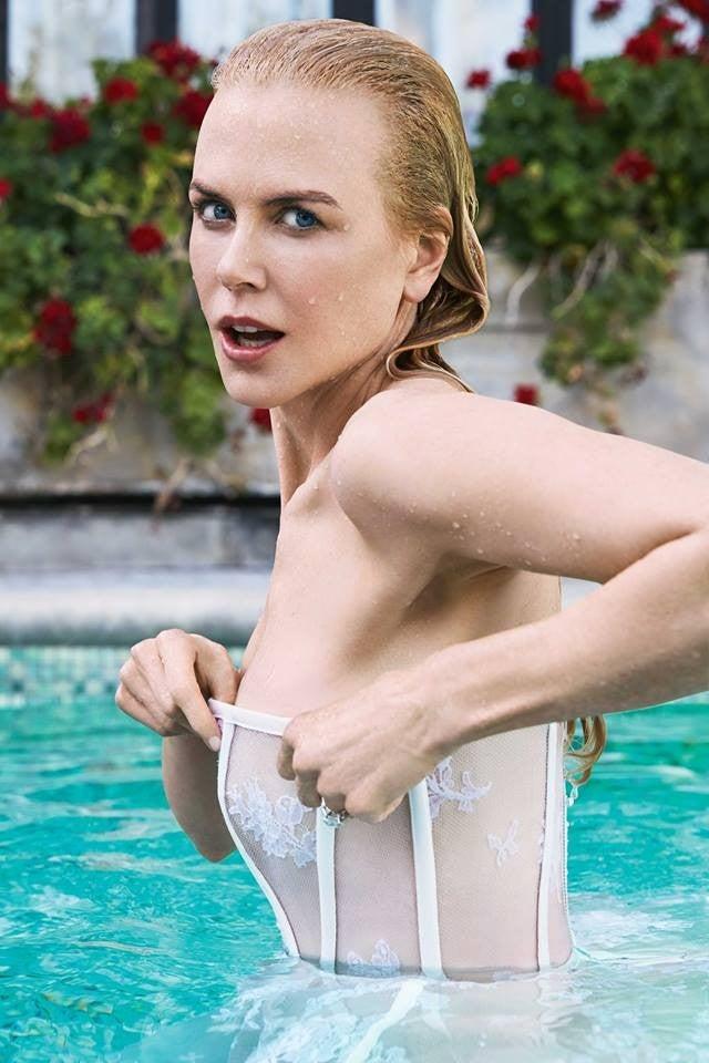 Nicole Kidman In Stellar Magazine
