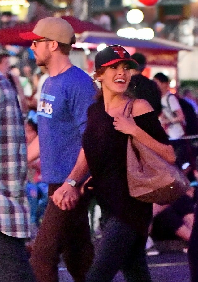 Ryan Gosling And Eva Mendes Show Rare Pda During Adorable