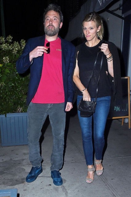 Ben Affleck and Lindsay Shookus on dinner date in NYC