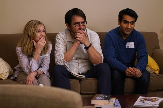 Holly Hunter, Ray Romano, Kumail Nanjiani in 'The Big Sick'
