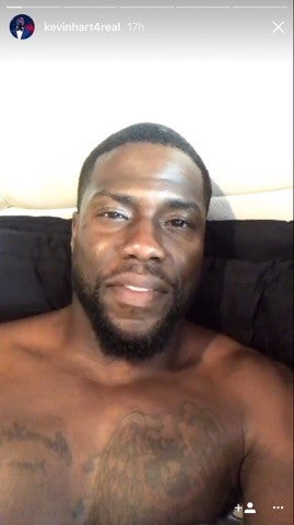 Kevin Hart Shirtless Instagram