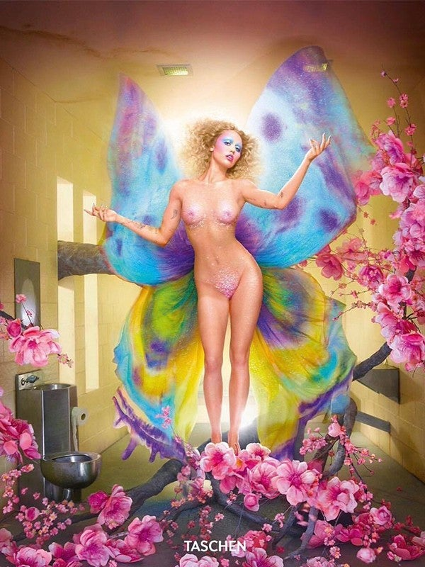 Miley Cyrus on the cover of David LaChappelle's 'Lost + Found'