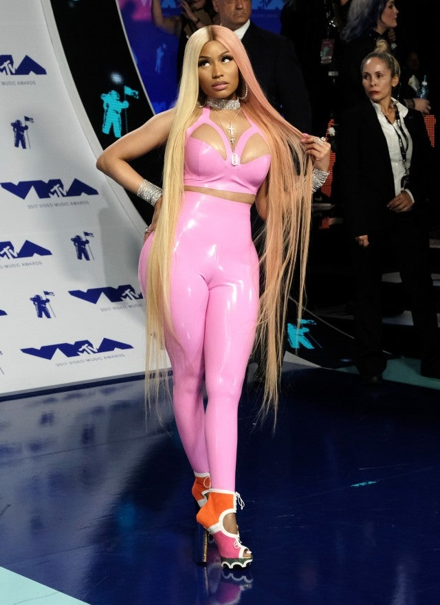 Nicki Minaj at 2017 Vmas