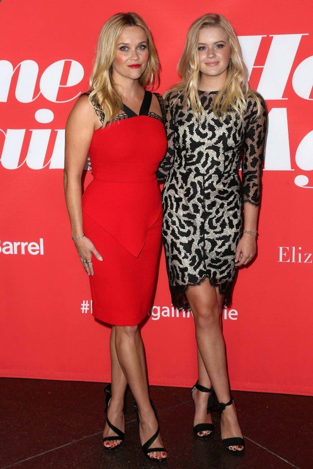 Reese Witherspoon and Ava Phillippe at Home Again Premiere