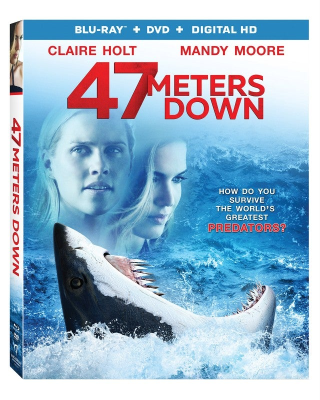 '47 Meters Down' DVD Artwork