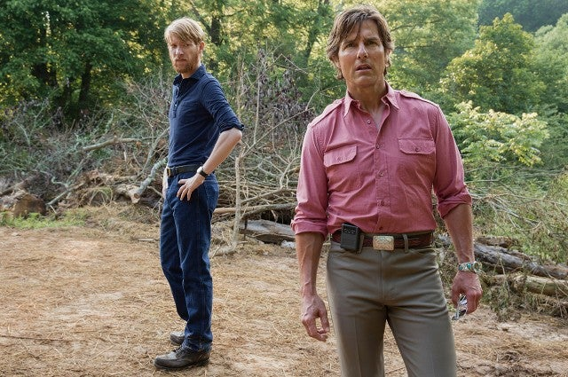 Domhnall Gleeson, Tom Cruise in 'American Made'