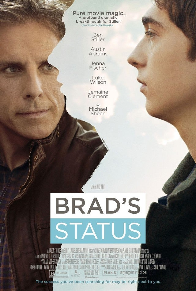 Ben Stiller in 'Brad's Status' Movie Poster