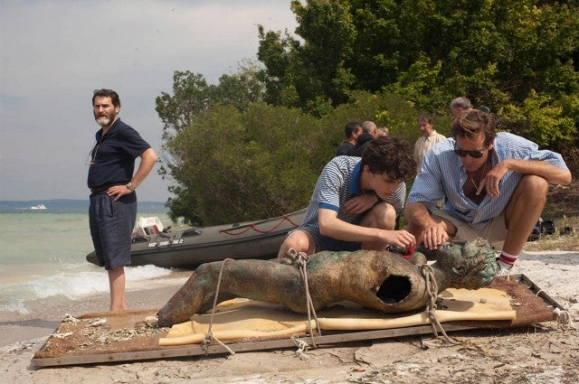 Timothée Chalamet, Armie Hammer in 'Call Me By Your Name'