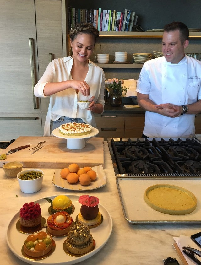 Chrissy Teigen and Chef Ford