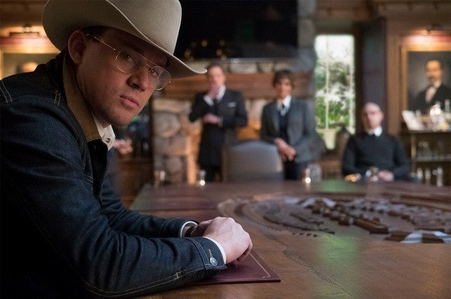 Channing Tatum in 'Kingsman The Golden Circle'