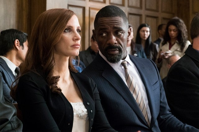 Jessica Chastain, Idris Elba in 'Molly's Game'