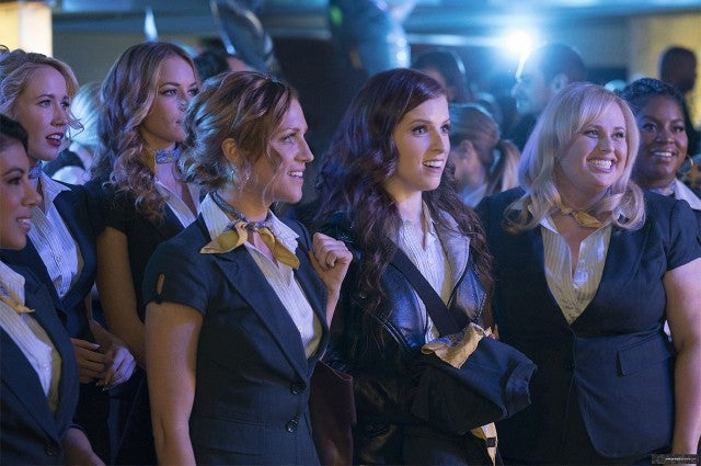 Anna Kendrick, Rebel Wilson, Brittany Snow in 'Pitch Perfect 3'
