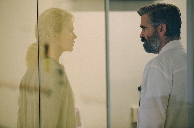 Nicole Kidman, Colin Farrell in 'The Killing of a Sacred Deer'