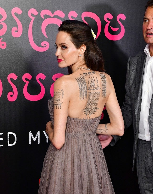 Angelina Jolie at the NYC premiere