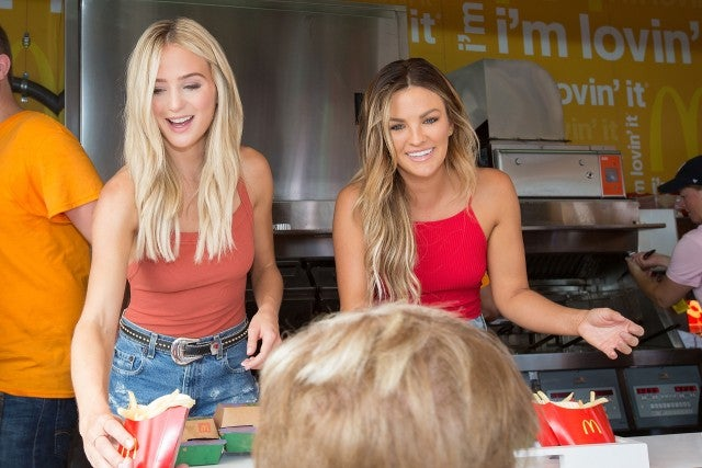 Lauren Bushnell and Becca Tilley - McDonald's