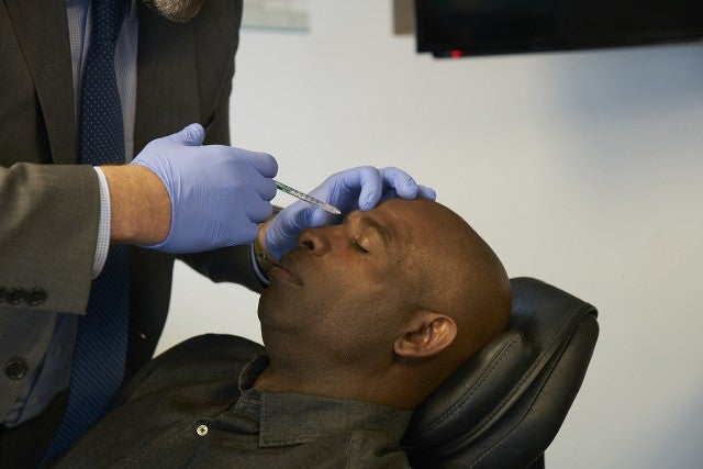 Deion Sanders gets botox
