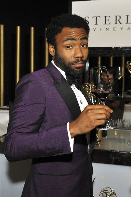 Donald Glover at Emmys After-party
