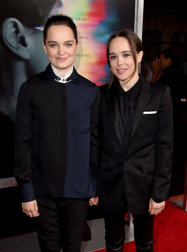 Ellen Page and Girlfriend Emma Portner at Flatliners Premiere