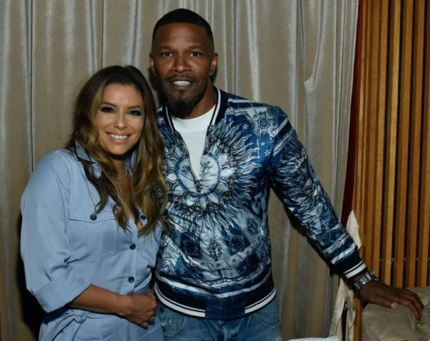 Eva Longoria and Jamie Foxx for Haute Living LA cover