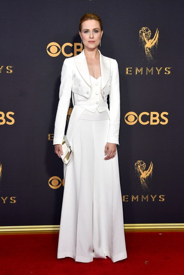 Evan Rachel Wood at 2017 Emmys
