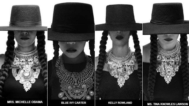 Beyonce's pals in Formation Outfit
