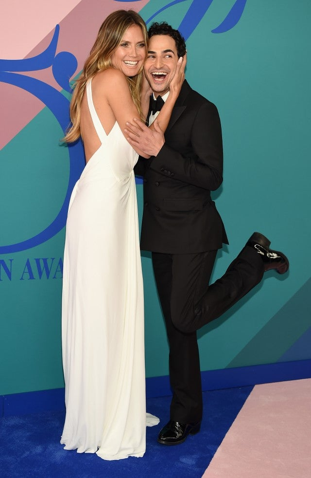 Heidi Klum, Zac Posen at CFDA Awards