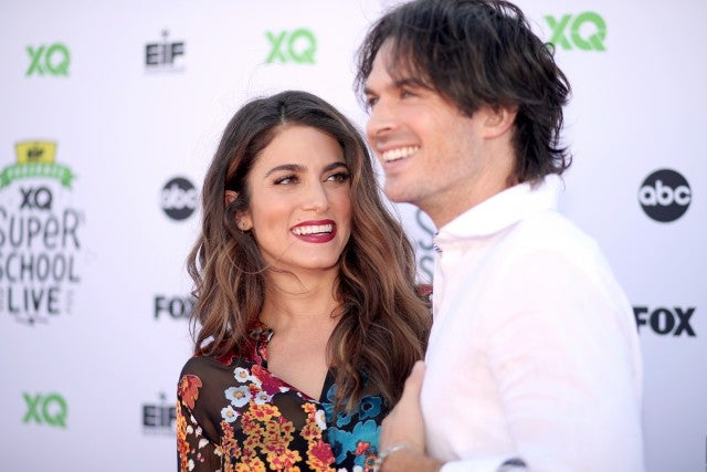 Ian Somerhalder and Nikki Reed at Super School Live