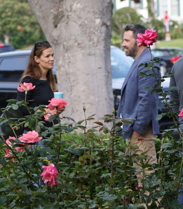 Jennifer Garner and Ben Affleck in Los Angeles