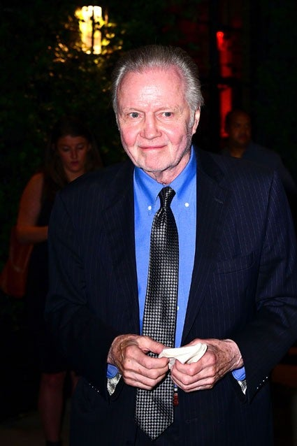 Jon Voight at Angelina Jolie's premiere in NYC