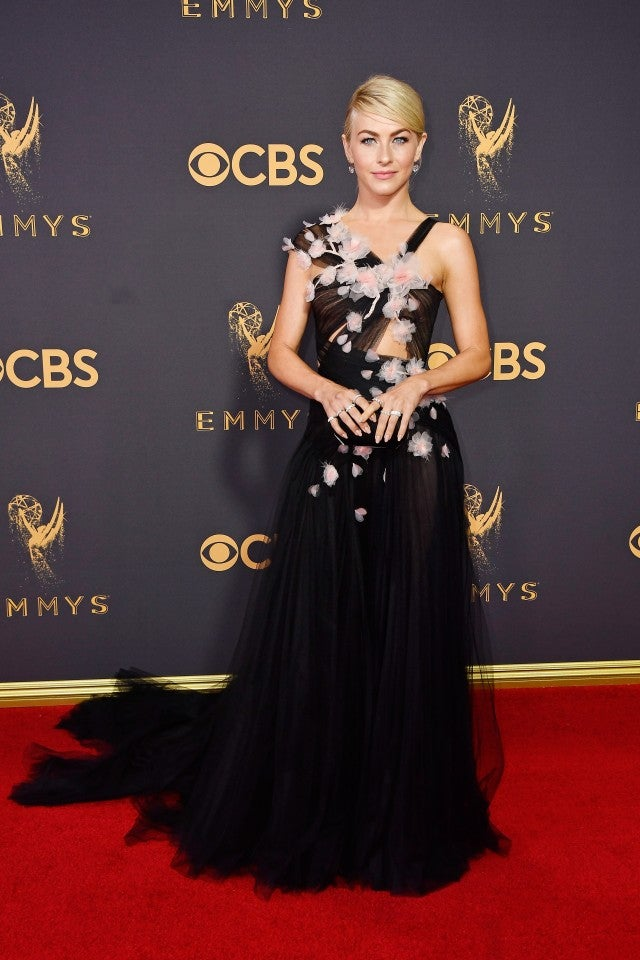 Julianne Hough at 2017 Emmys